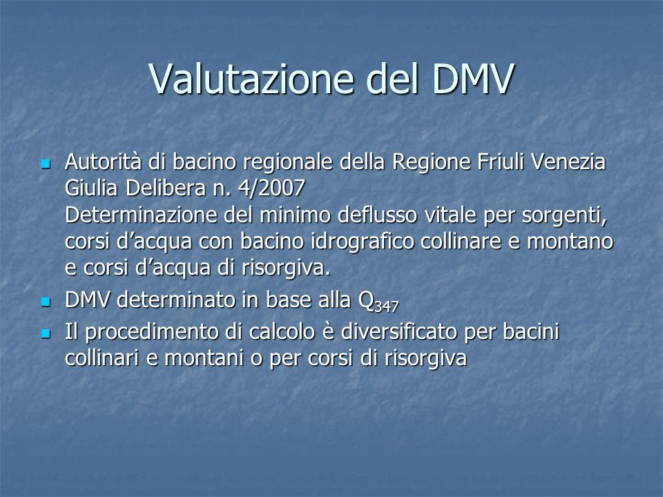 Valutazione del DMV