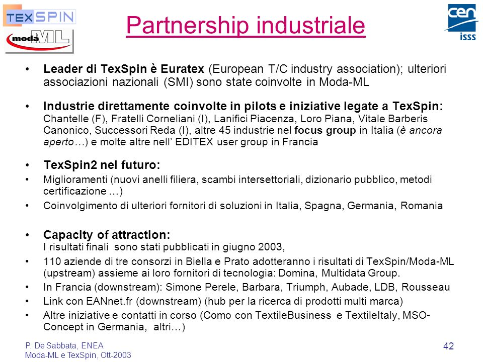 Partnership industriale