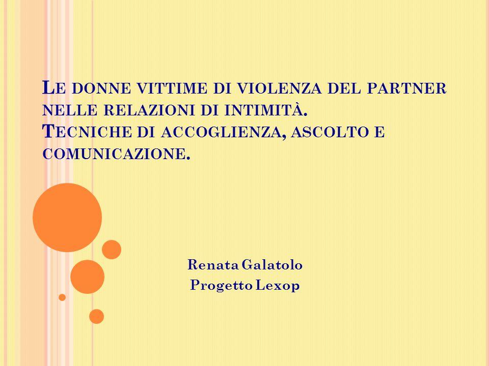 Renata Galatolo Progetto Lexop
