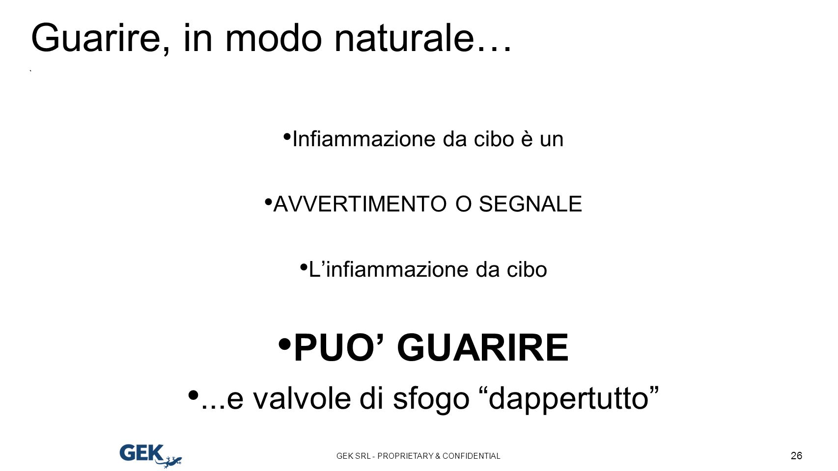 Guarire, in modo naturale…