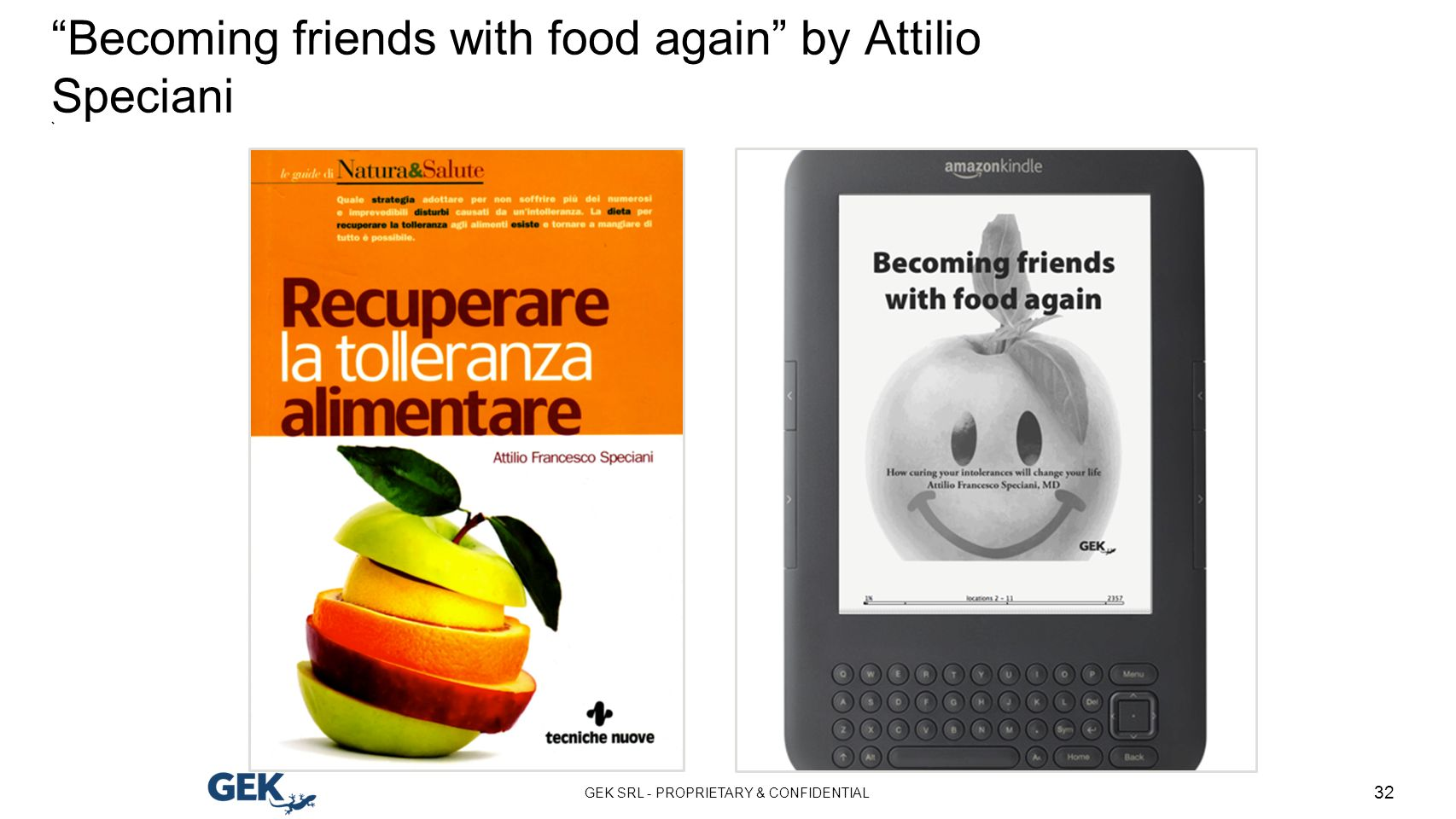 Becoming friends with food again by Attilio Speciani