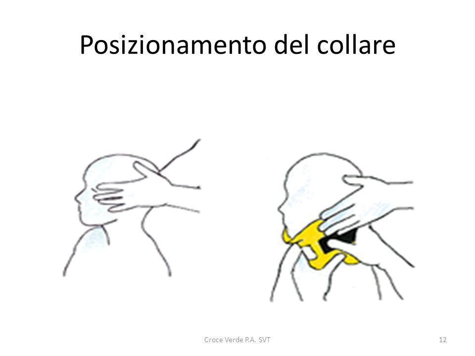 Posizionamento del collare