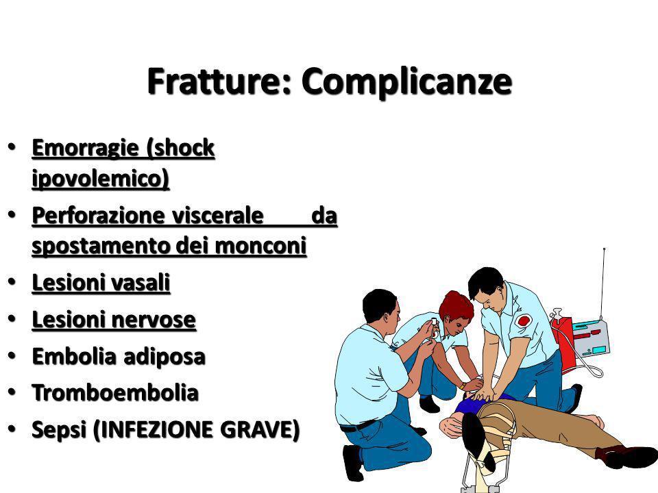 Fratture: Complicanze