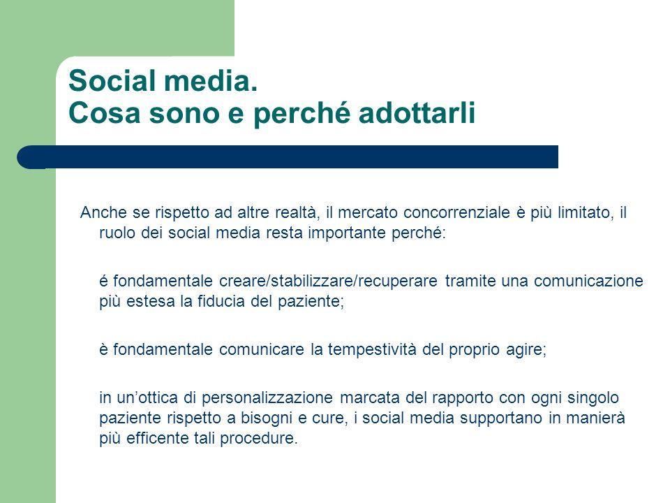 Social media. Cosa sono e perché adottarli