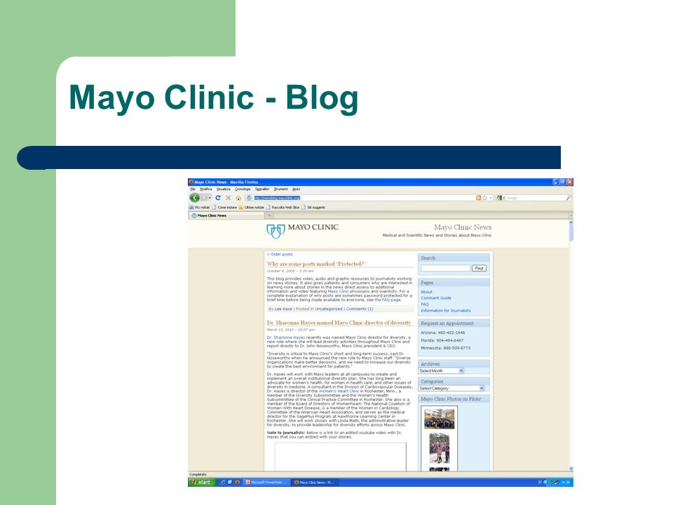 Mayo Clinic - Blog