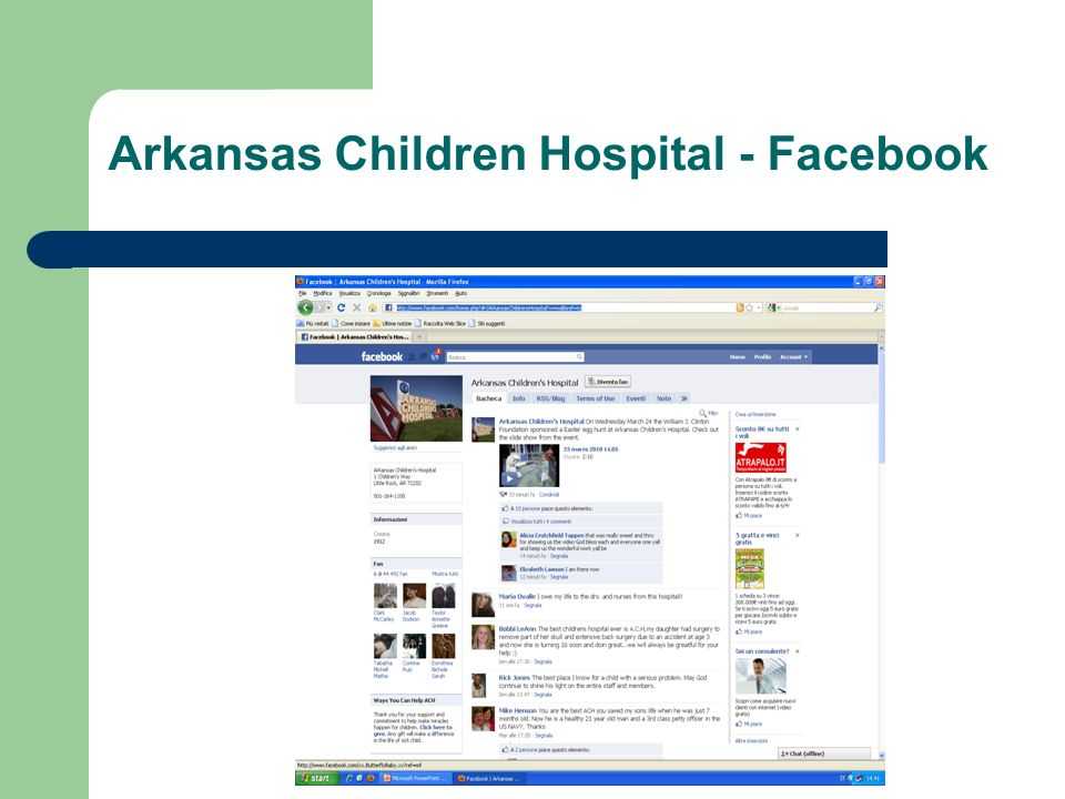Arkansas Children Hospital - Facebook