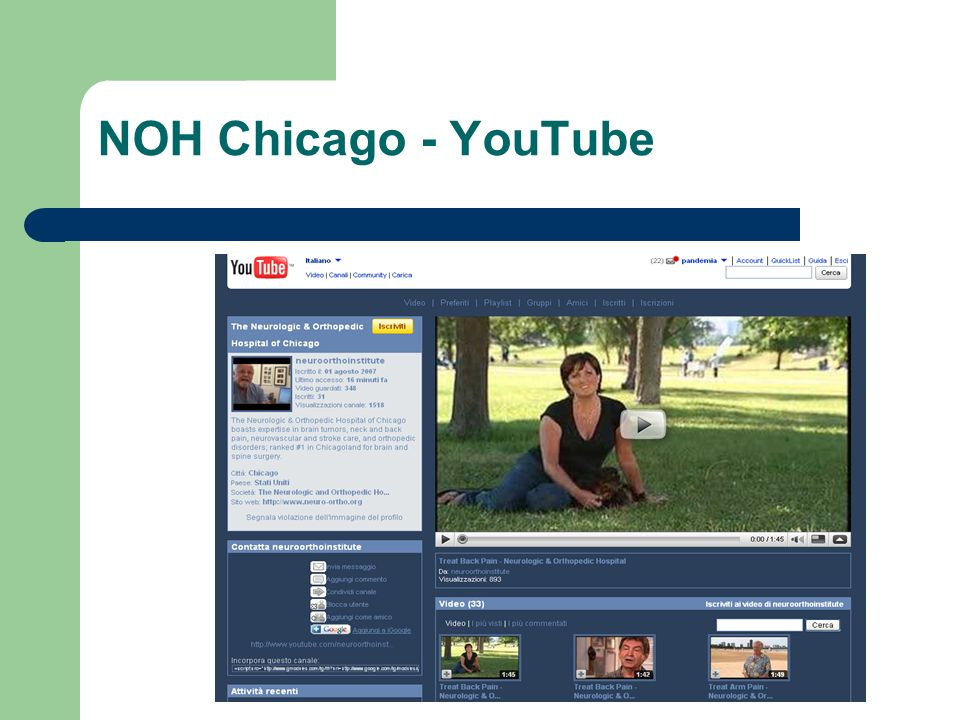 NOH Chicago - YouTube