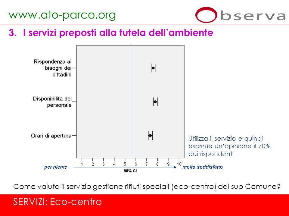 www.ato-parco.org I servizi preposti alla tutela dell'ambiente