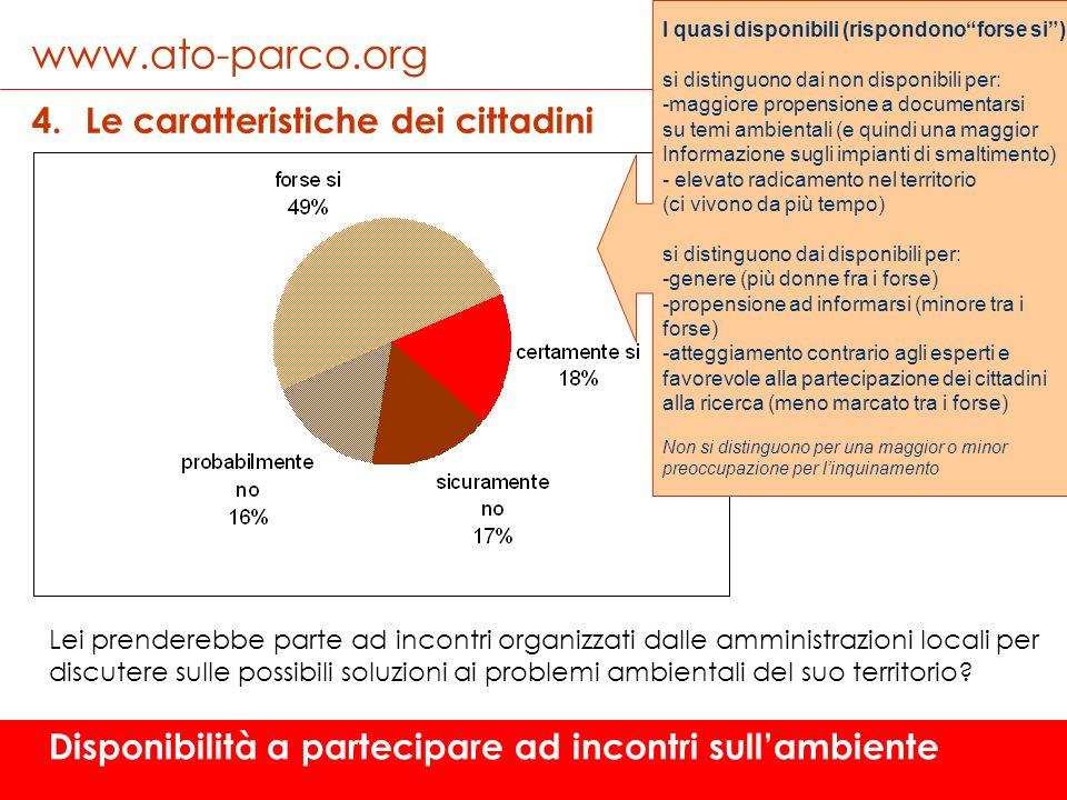 www.ato-parco.org Le caratteristiche dei cittadini
