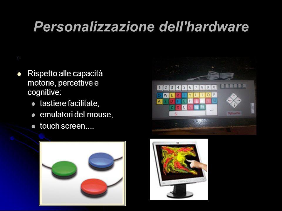 Personalizzazione dell hardware