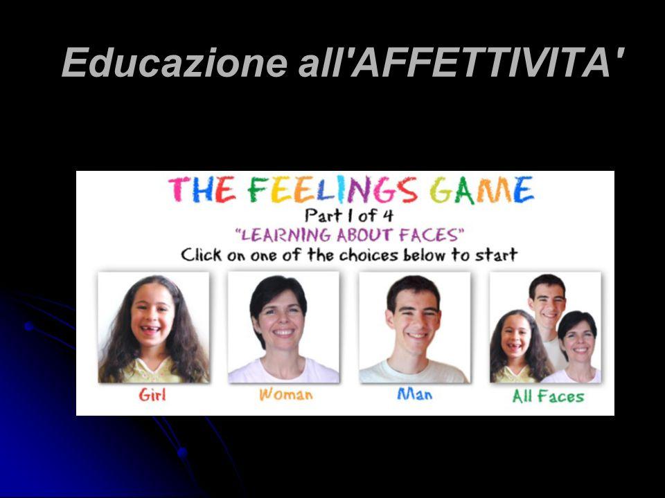 Educazione all AFFETTIVITA