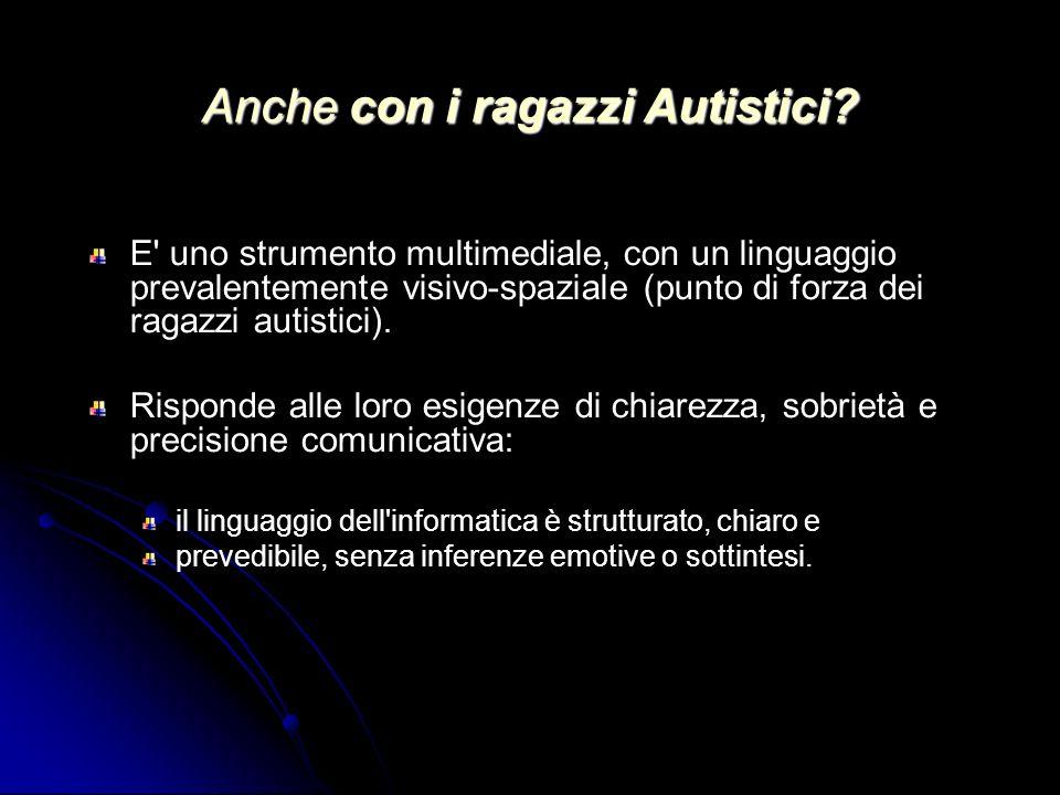 Anche con i ragazzi Autistici