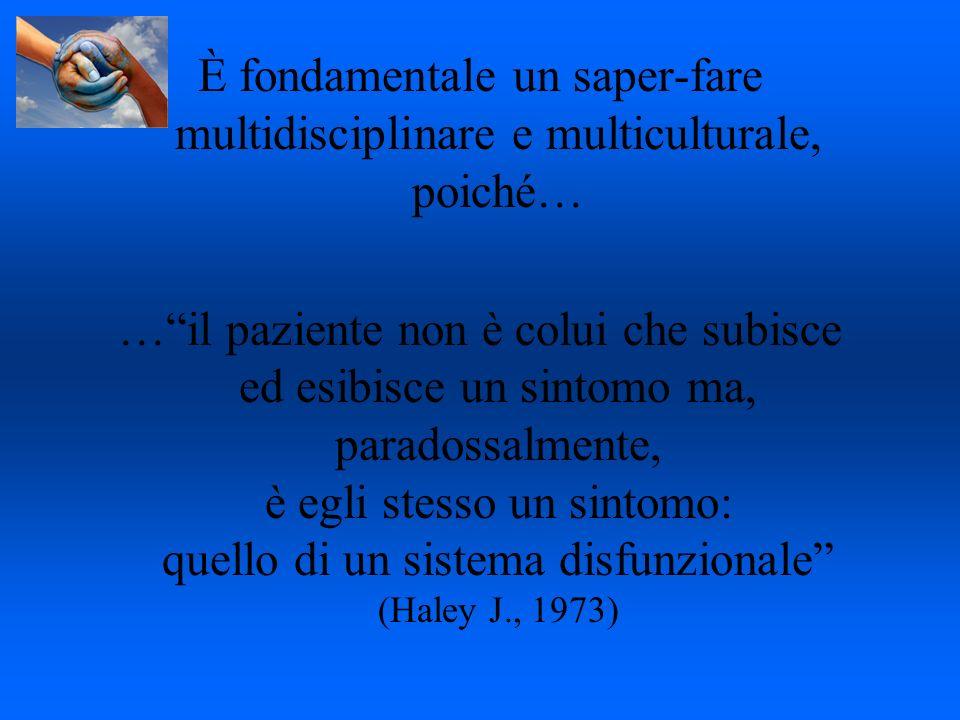 È fondamentale un saper-fare multidisciplinare e multiculturale, poiché…