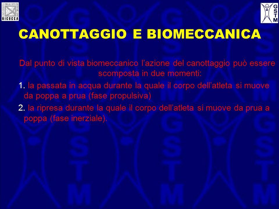 CANOTTAGGIO E BIOMECCANICA