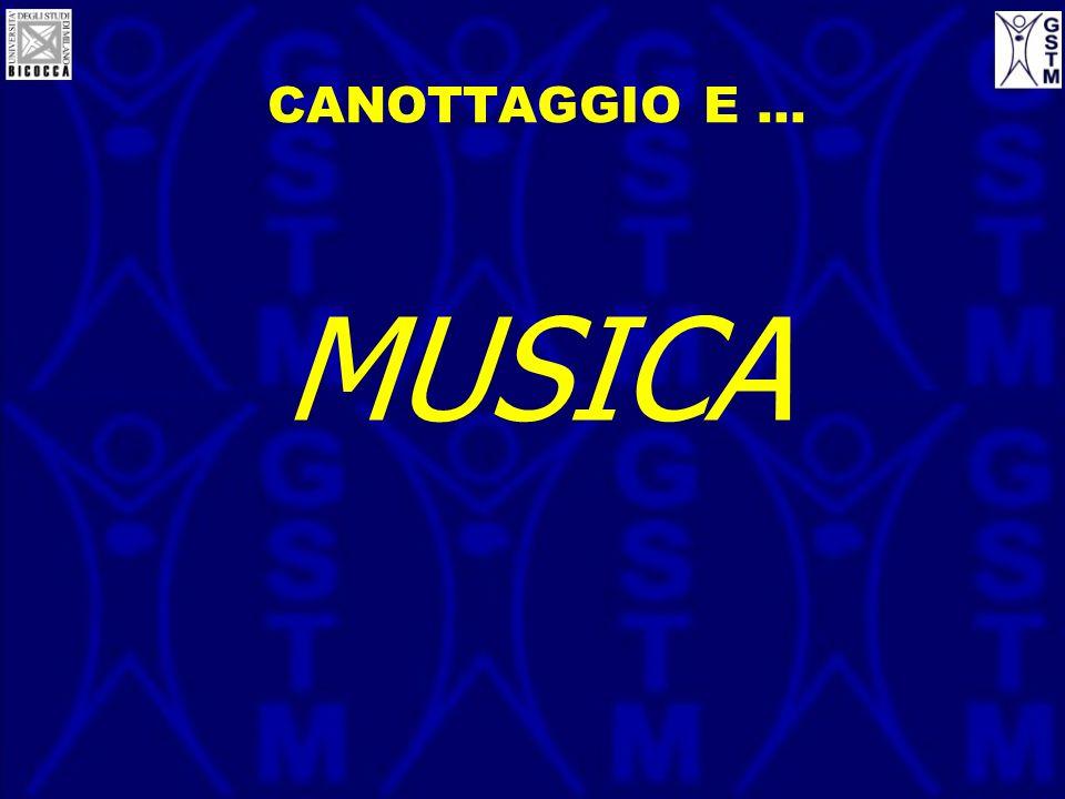 CANOTTAGGIO E … MUSICA