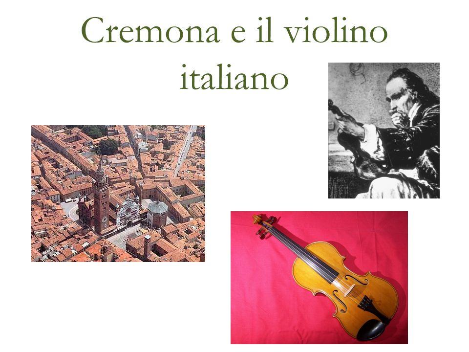 Cremona e il violino italiano