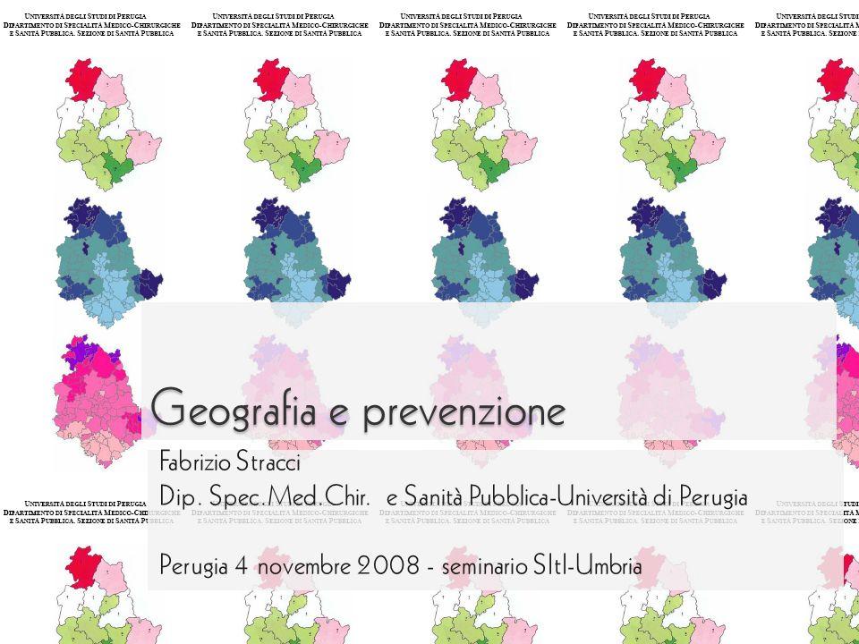 Geografia e prevenzione