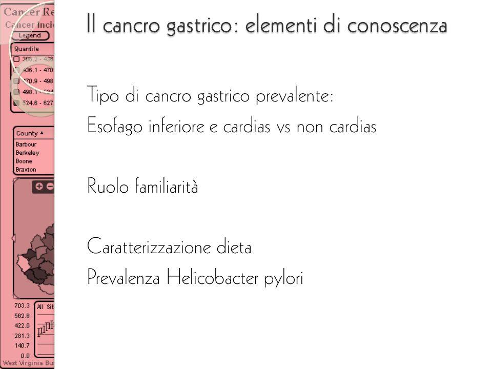 Il cancro gastrico: elementi di conoscenza