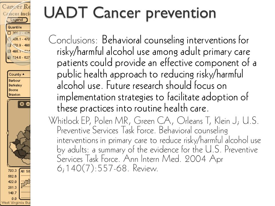 UADT Cancer prevention