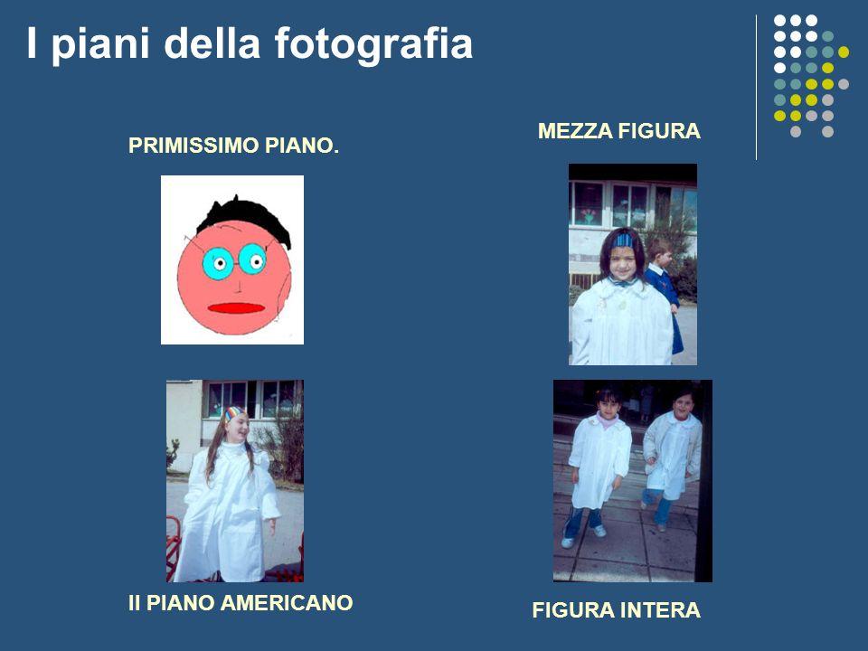 I piani della fotografia