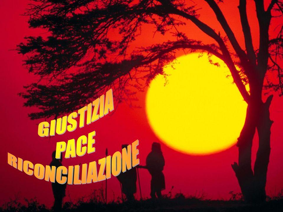 GIUSTIZIA PACE RICONCILIAZIONE