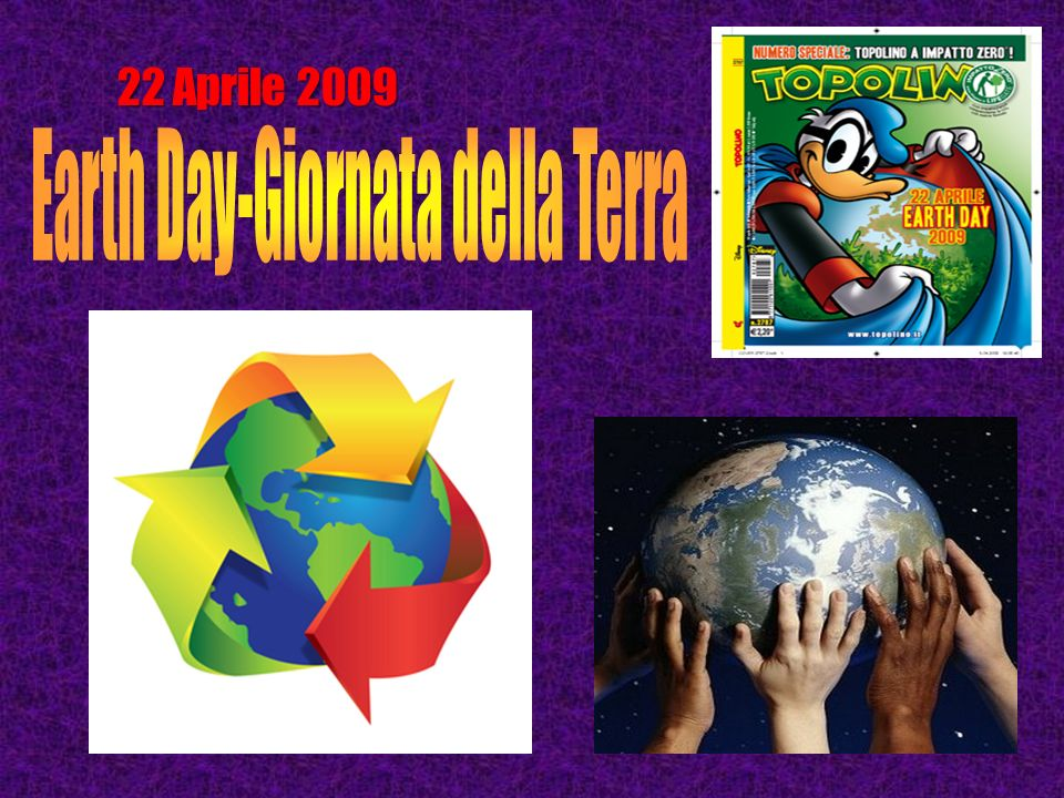 Earth Day-Giornata della Terra