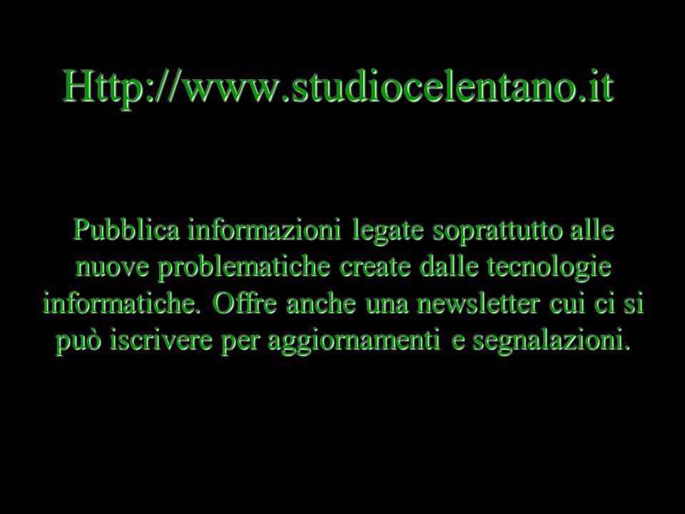 Http://www.studiocelentano.it