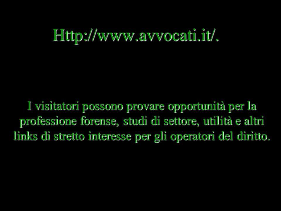 Http://www.avvocati.it/.