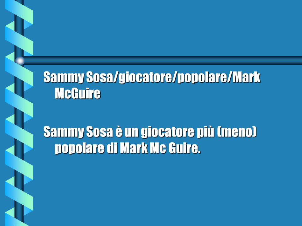 Sammy Sosa/giocatore/popolare/Mark McGuire