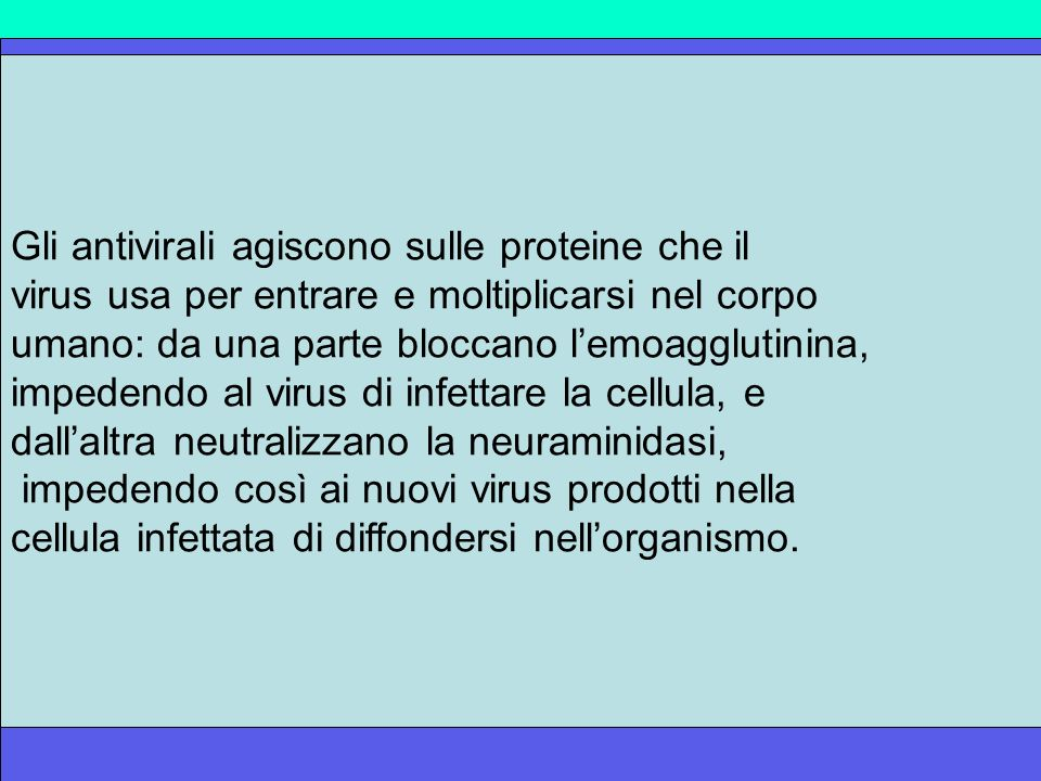 L'H5N1 è resistente alla terapia con Amantadina