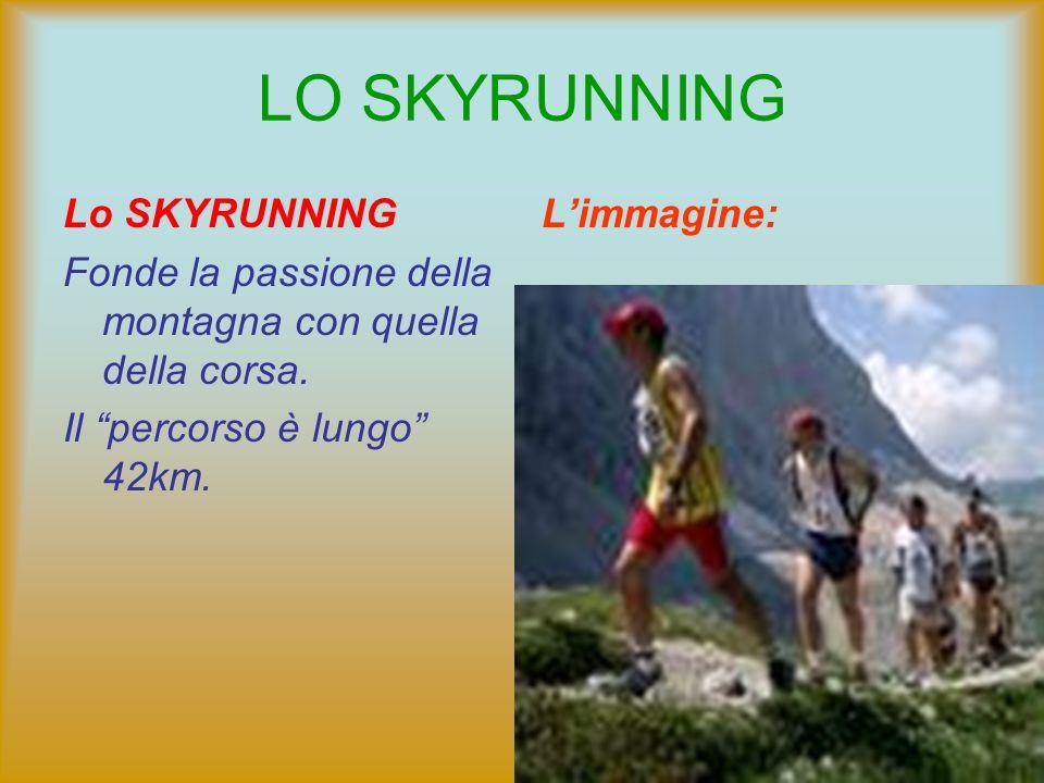 LO SKYRUNNING Lo SKYRUNNING