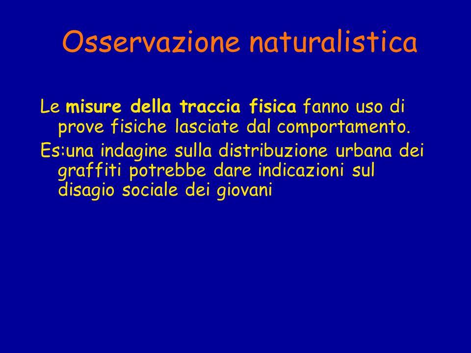 Osservazione naturalistica