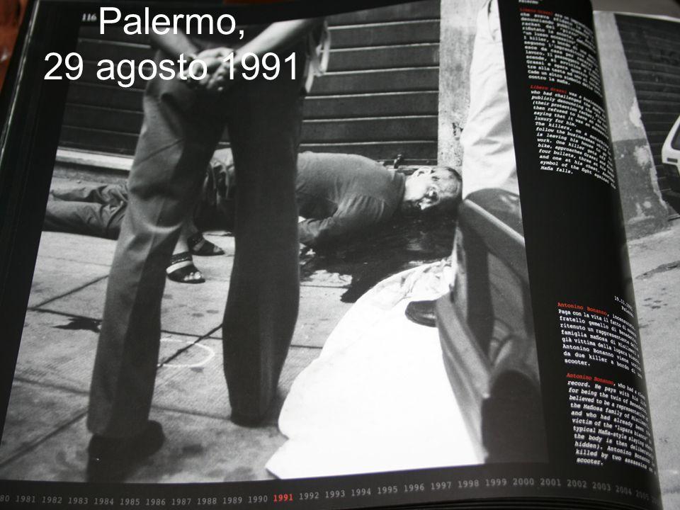 Palermo, 29 agosto 1991