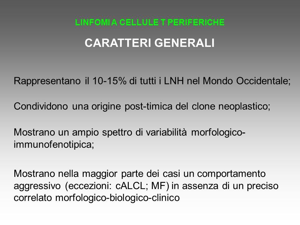 LINFOMI A CELLULE T PERIFERICHE