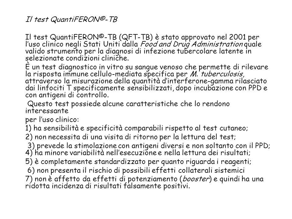 Il test QuantiFERON©-TB
