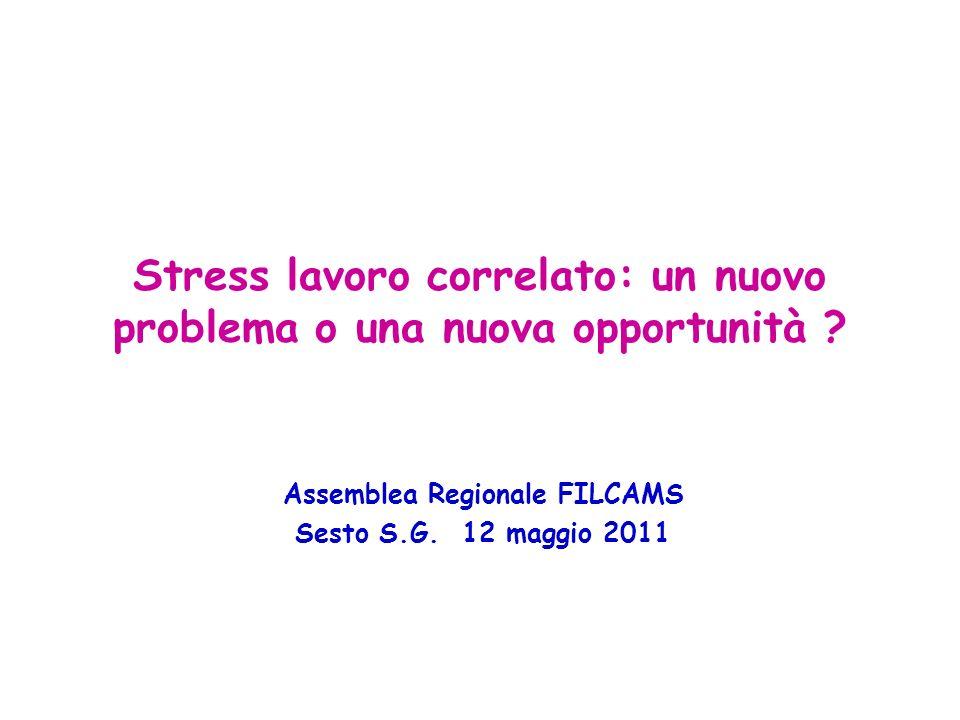 Stress lavoro correlato: un nuovo problema o una nuova opportunità