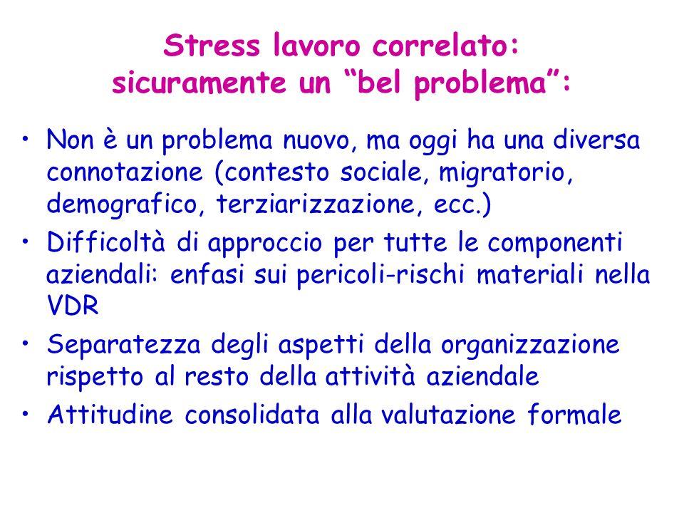 Stress lavoro correlato: sicuramente un bel problema :