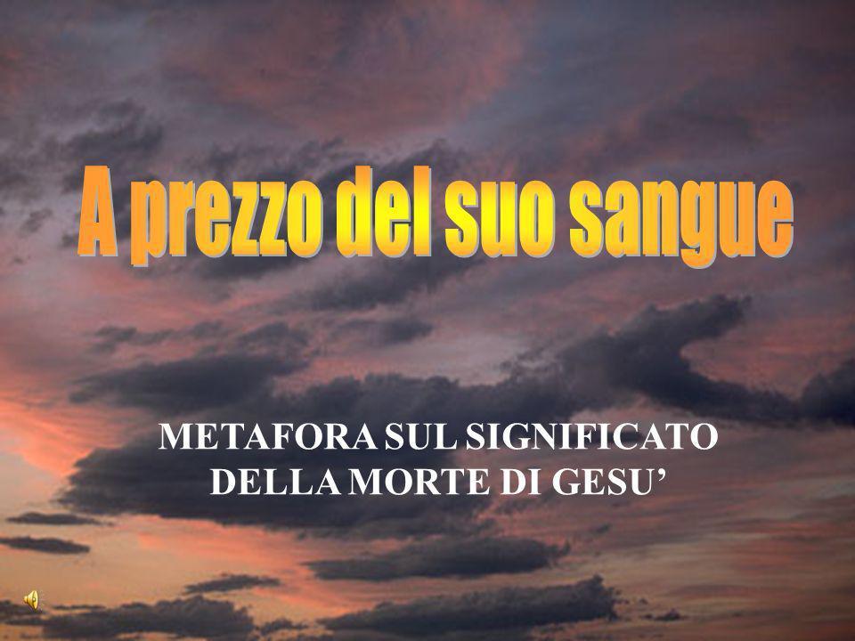 METAFORA SUL SIGNIFICATO DELLA MORTE DI GESU'