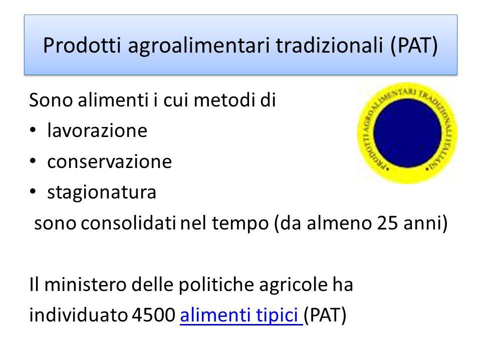Prodotti agroalimentari tradizionali (PAT)
