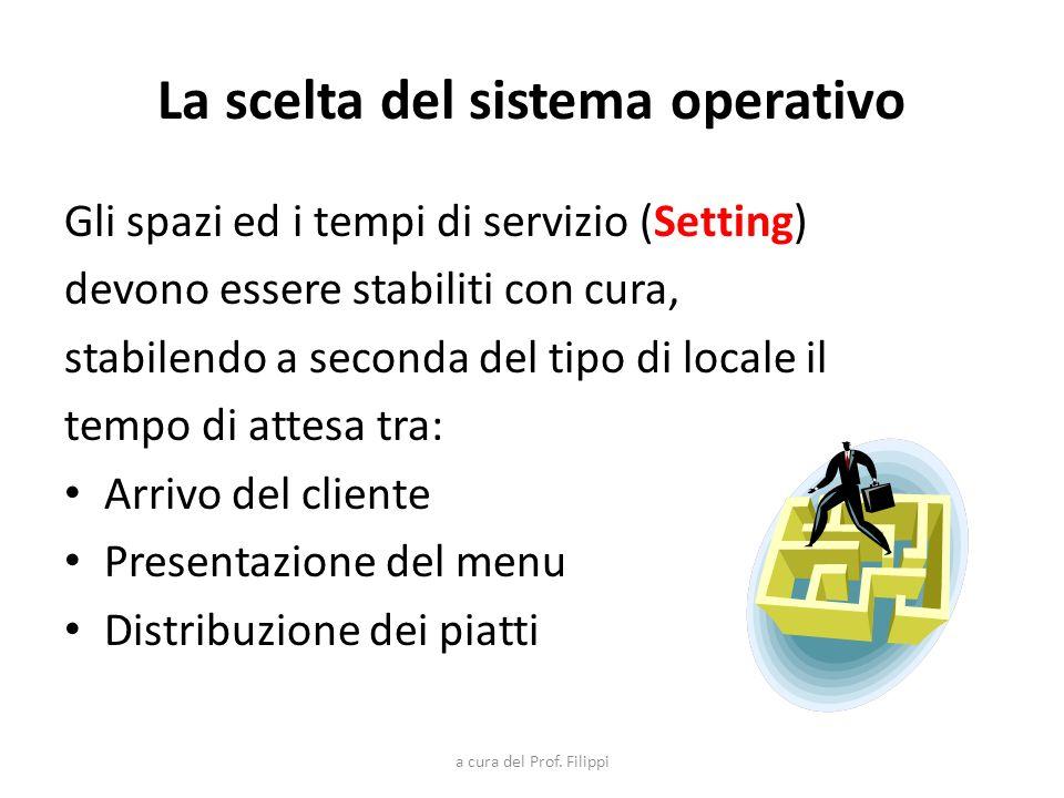 La scelta del sistema operativo