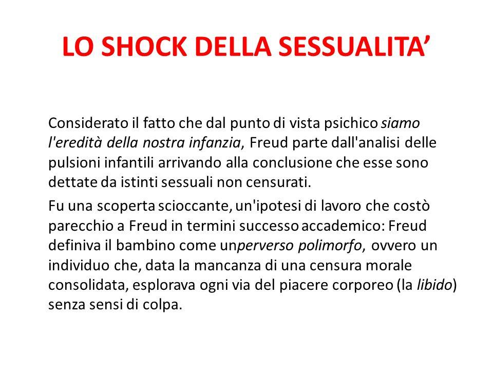 LO SHOCK DELLA SESSUALITA'