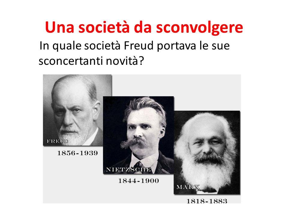 Una società da sconvolgere