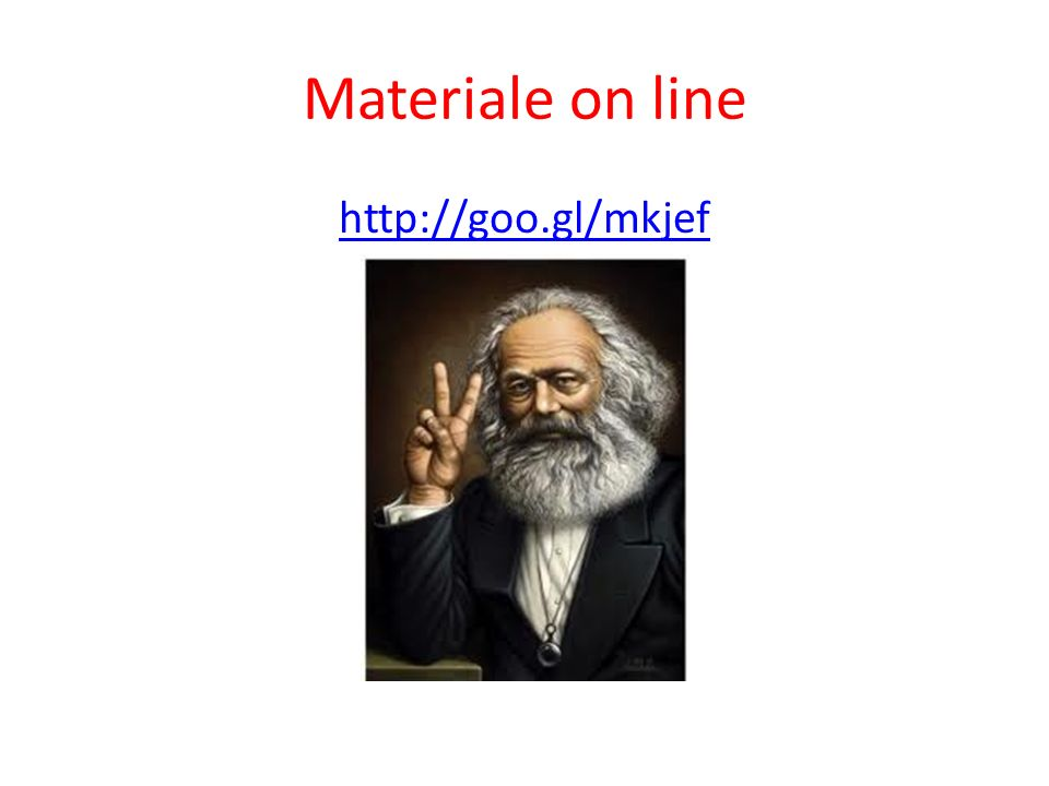 Materiale on line