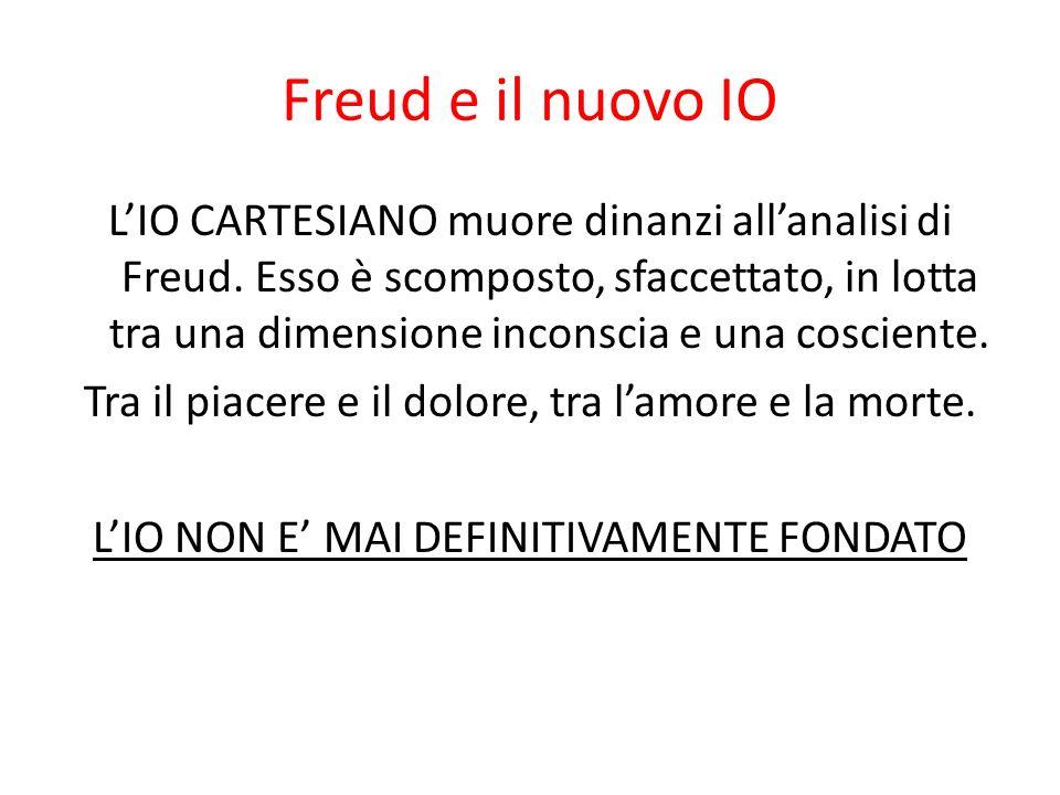 Freud e il nuovo IO