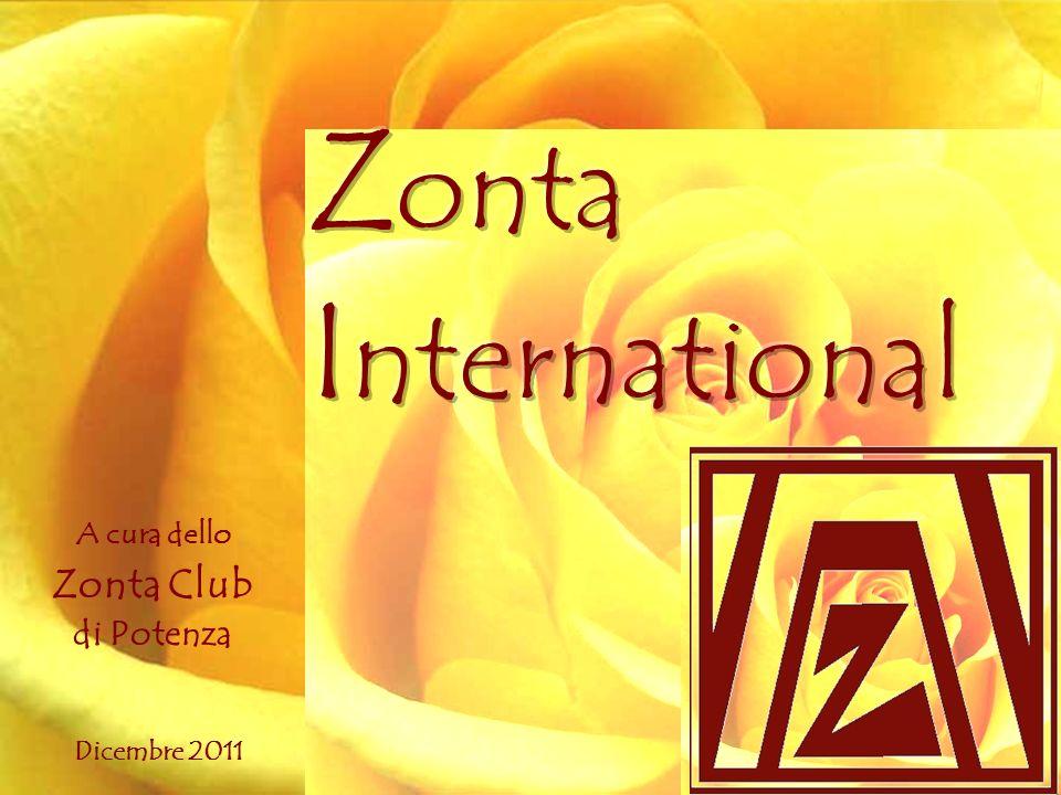 Zonta International A cura dello Zonta Club di Potenza Dicembre 2011
