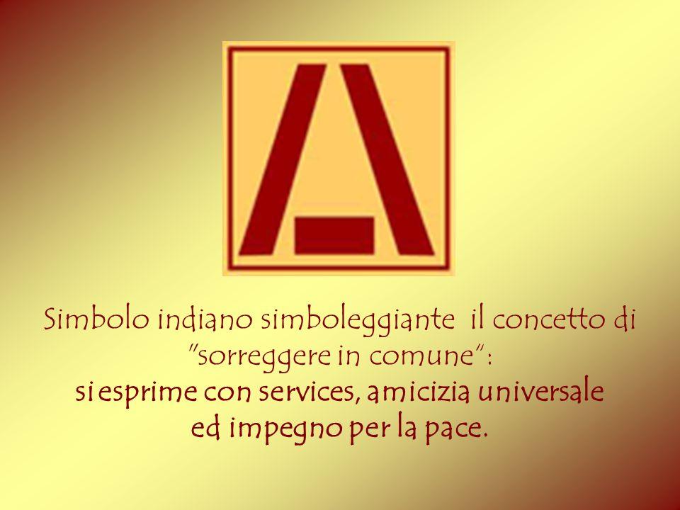 Simbolo indiano simboleggiante il concetto di sorreggere in comune :