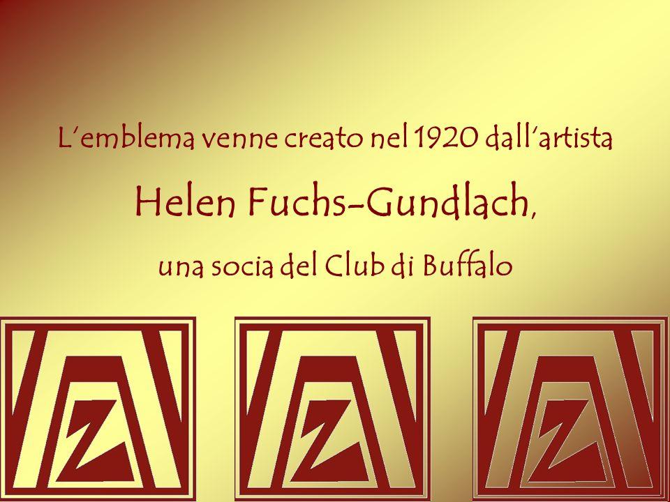 Helen Fuchs-Gundlach, L'emblema venne creato nel 1920 dall'artista