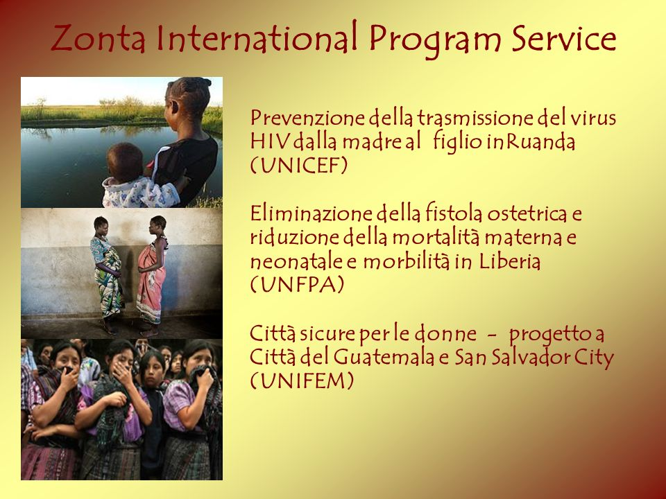 Zonta International Program Service