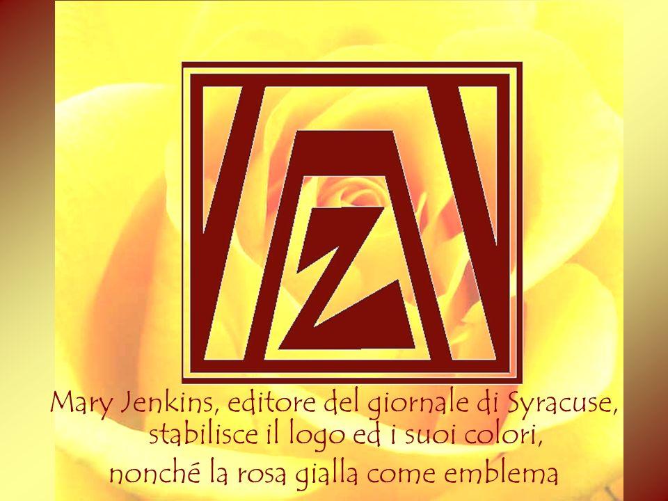 nonché la rosa gialla come emblema 2