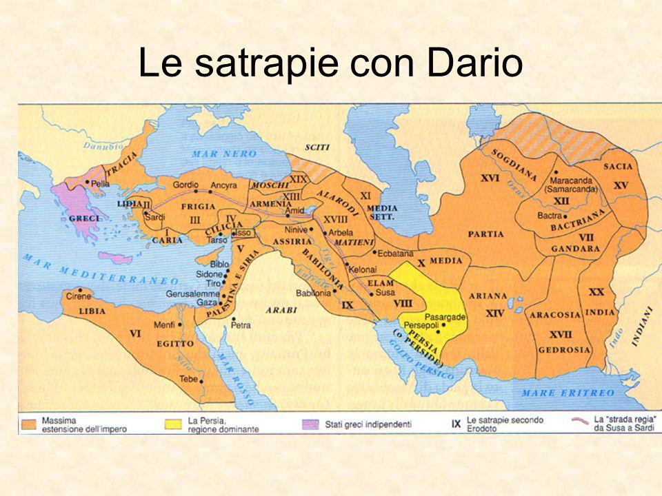 Le satrapie con Dario